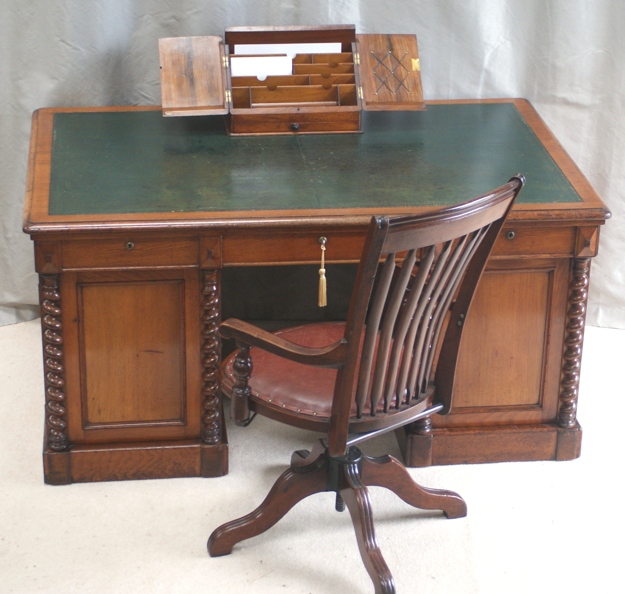 antique top secretary desks for design charming office with roll desk drawers home furniture your interesting hutch mahogany