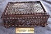 Antique Signed Faure Limoges Enamel Copper Box For Sale