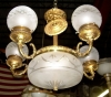 BANCI wrought iron chandeliers Florentine luxury and