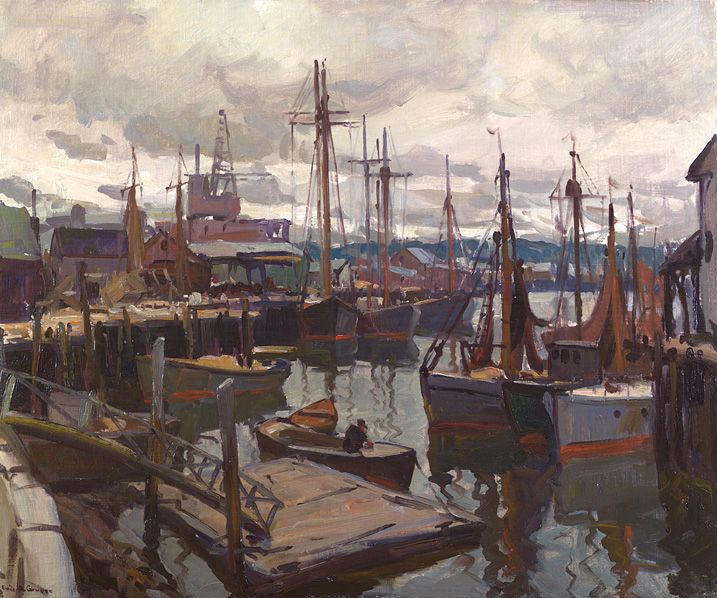 Emile Gruppe Oil Paintings