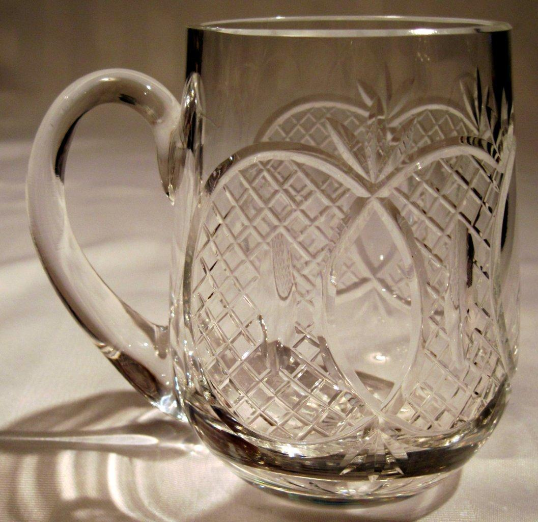 Waterford Crystal Coffee Tankard Mug For Sale Antiques