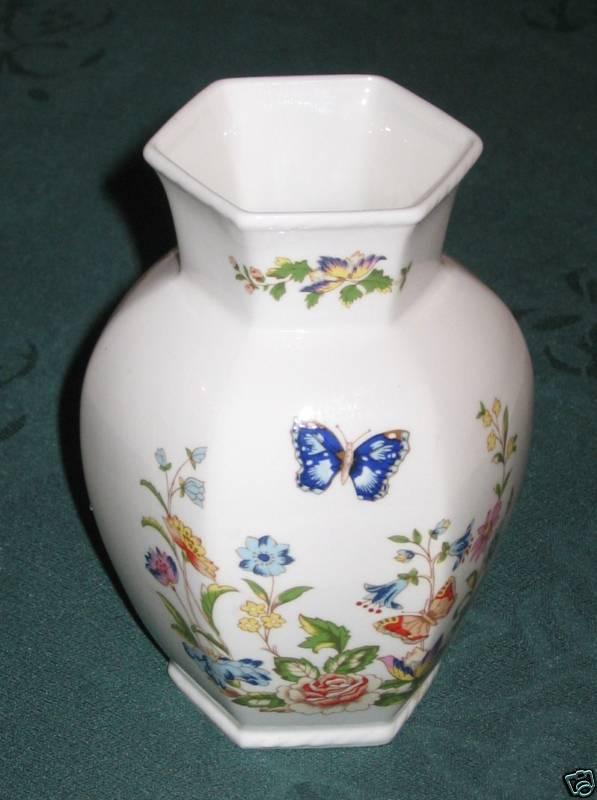 Vintage Aynsley Cottage Garden Vase For Sale Antiques Com Classifieds