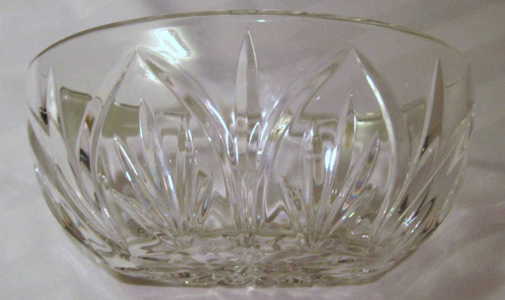 Irish Waterford Crystal Canterbery Oval Bowl For Sale Antiques Com Classifieds