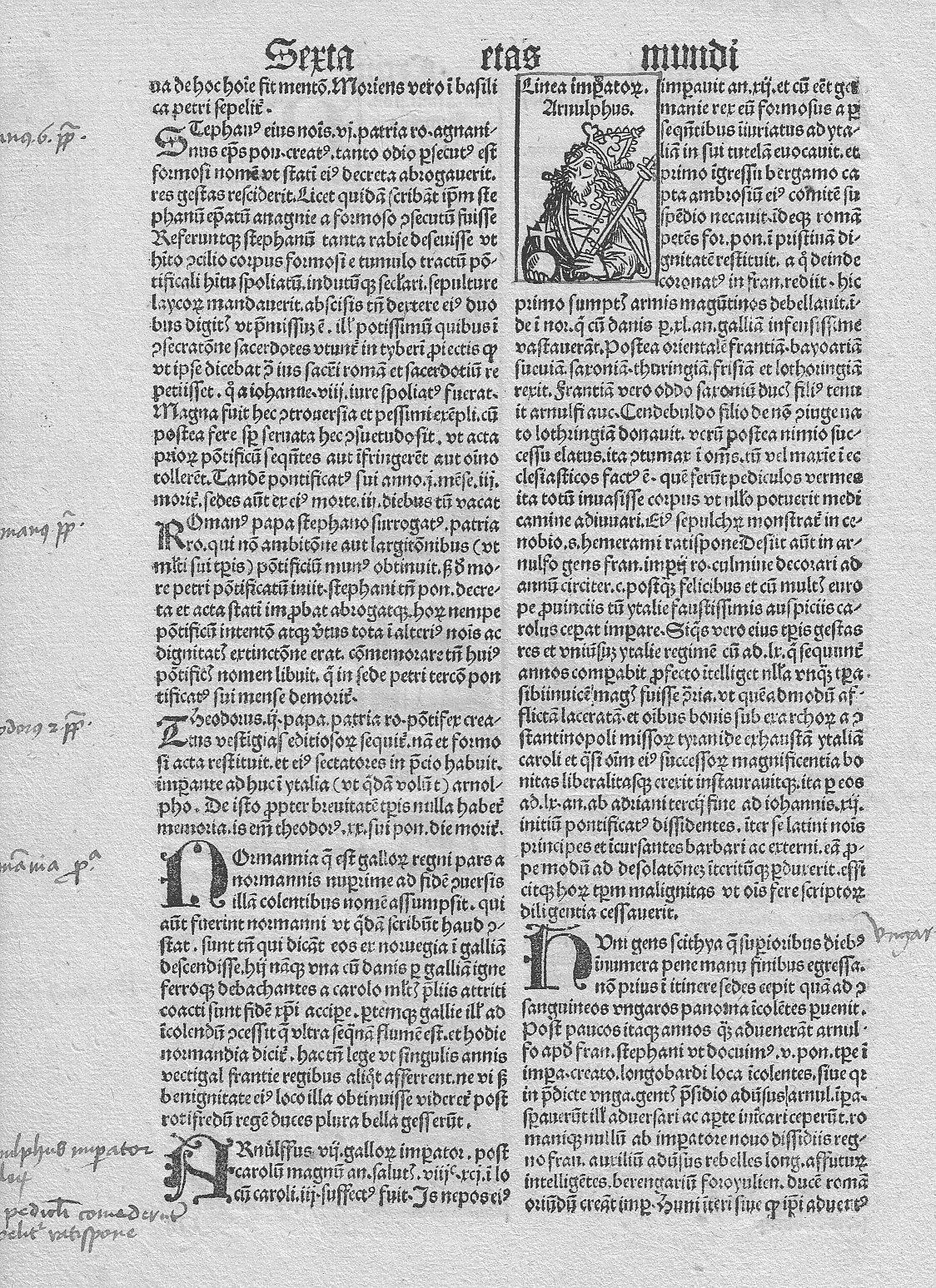Nuremberg Chronicle Nuremberg Chronicle Leaf 2