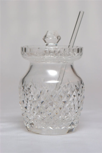 Wateford Vintage Large Lead Crystal Jam Jar For Sale Antiques Com Classifieds
