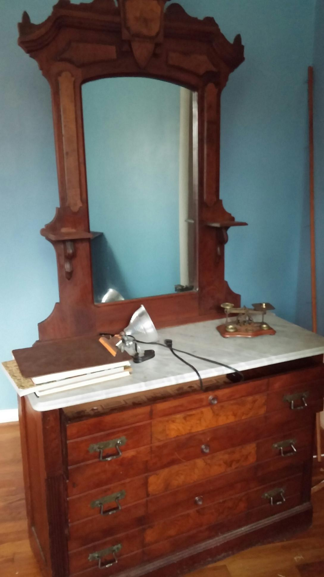 Victorian Marble Top Dresser For Sale Antiques Com