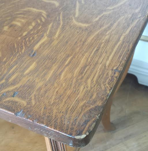 Antique lamp table. This Tiger oak table is perfect as an end table. night  stand, plant stand, entryway table, and would make a great guest reception  table ... - Antique Lamp Table, Tiger Oak Table, Oak End Table, Wood Accent