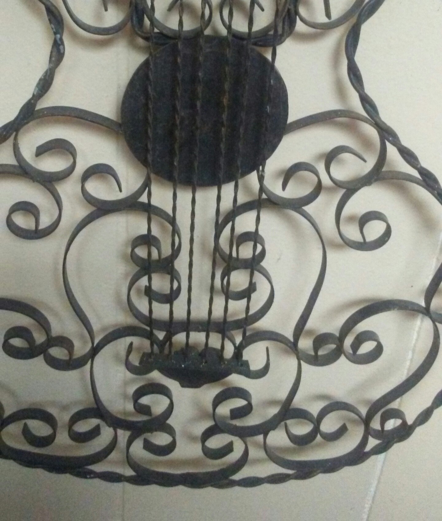 vintage metal guitar