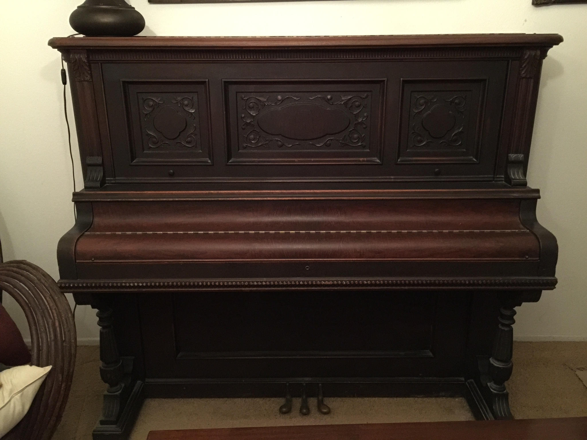 dating your antique piano