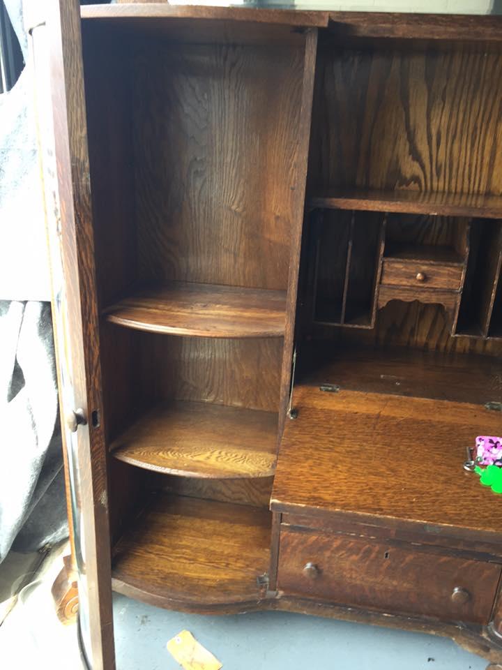 Antique Larkin Oak Secretary For Sale Antiques Com