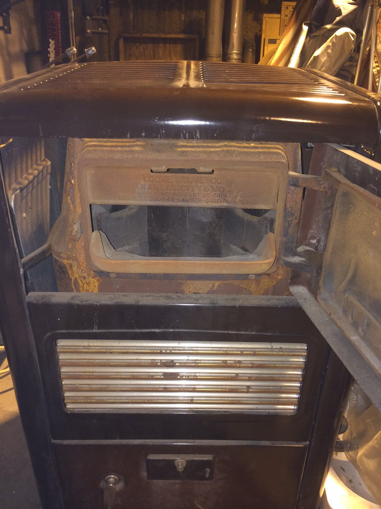 Up for sale is a warm morning stove/heater. This came from my parents old  farm house and was used until the 80's. It can burn coal or wood, it comes  with ... - Warm Morning Stove For Sale Antiques.com Classifieds