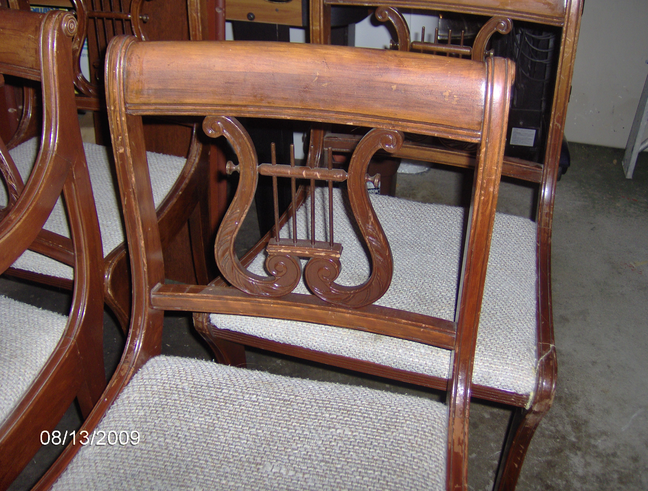Antique Duncan Phyfe Drop Leaf Table And Chairs For Sale Antiques