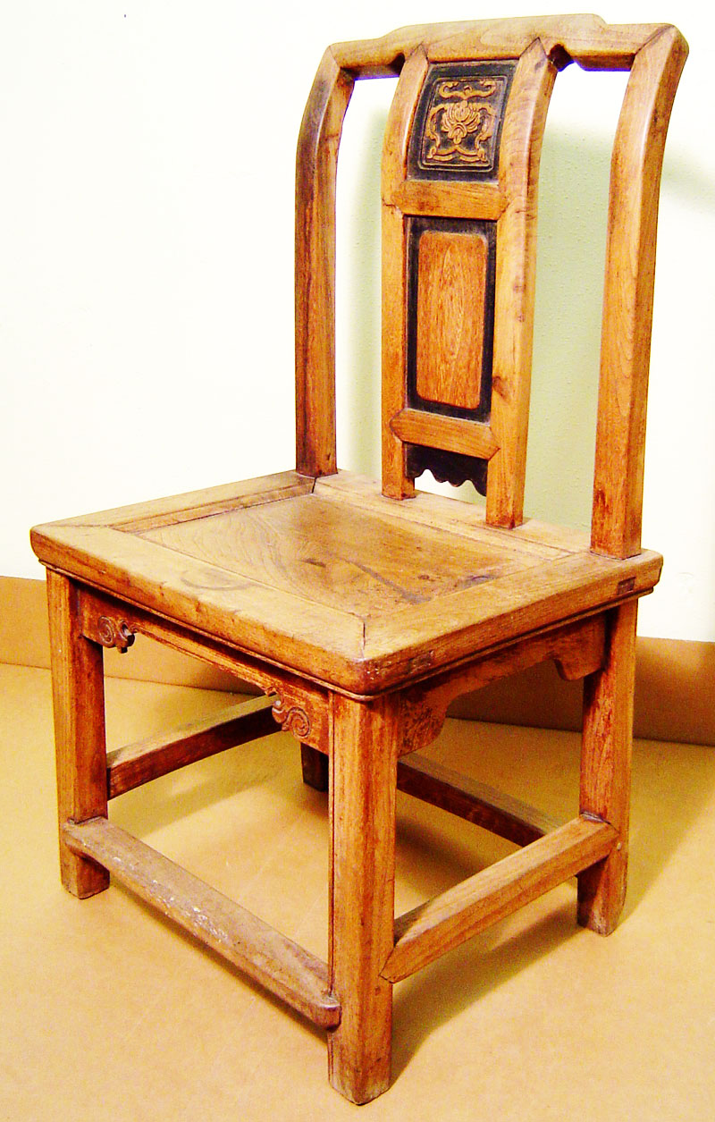 Antique chinese ming children chair 3126 zelkova wood for Asian chairs for sale