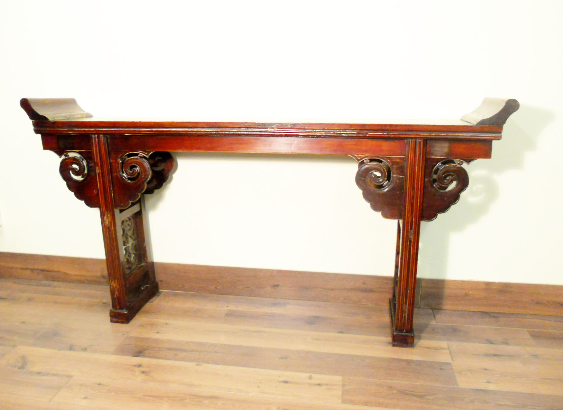 Antique chinese altar table 5562 cypress wood circa for Oriental furniture for sale