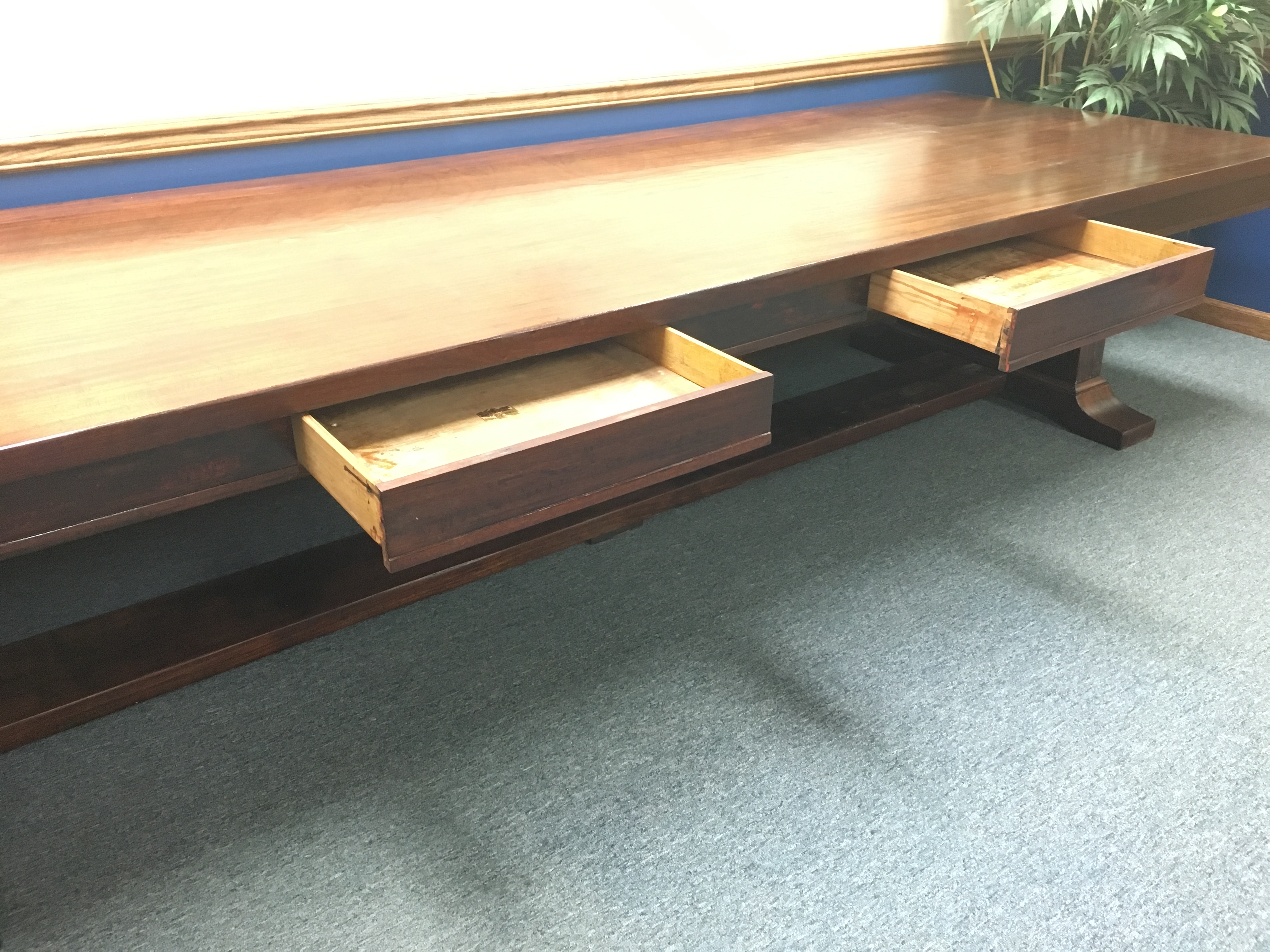 4 x 12 Samson Conference Director s Table by Mutschler Brothers
