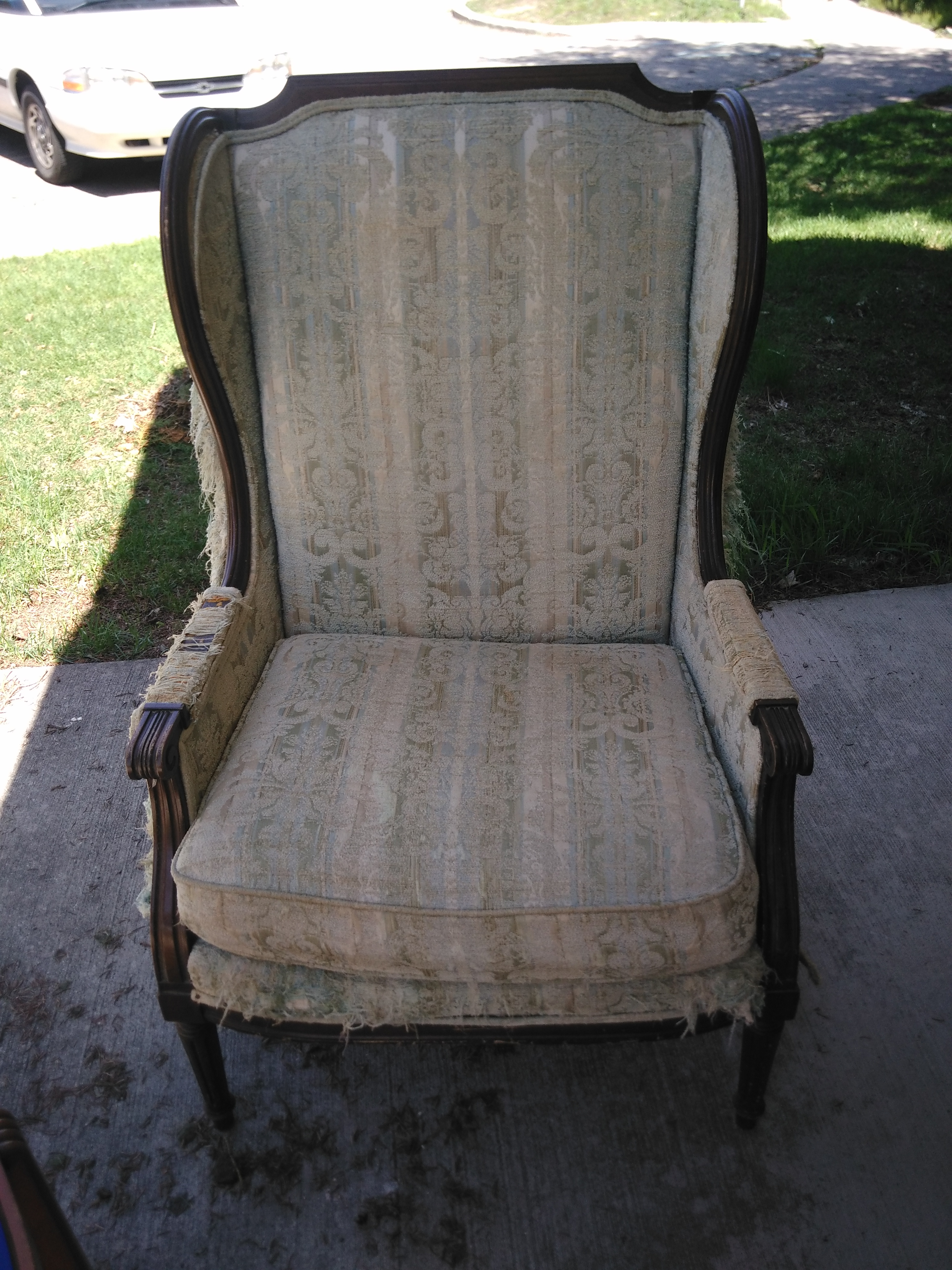 antique wingback chair for sale