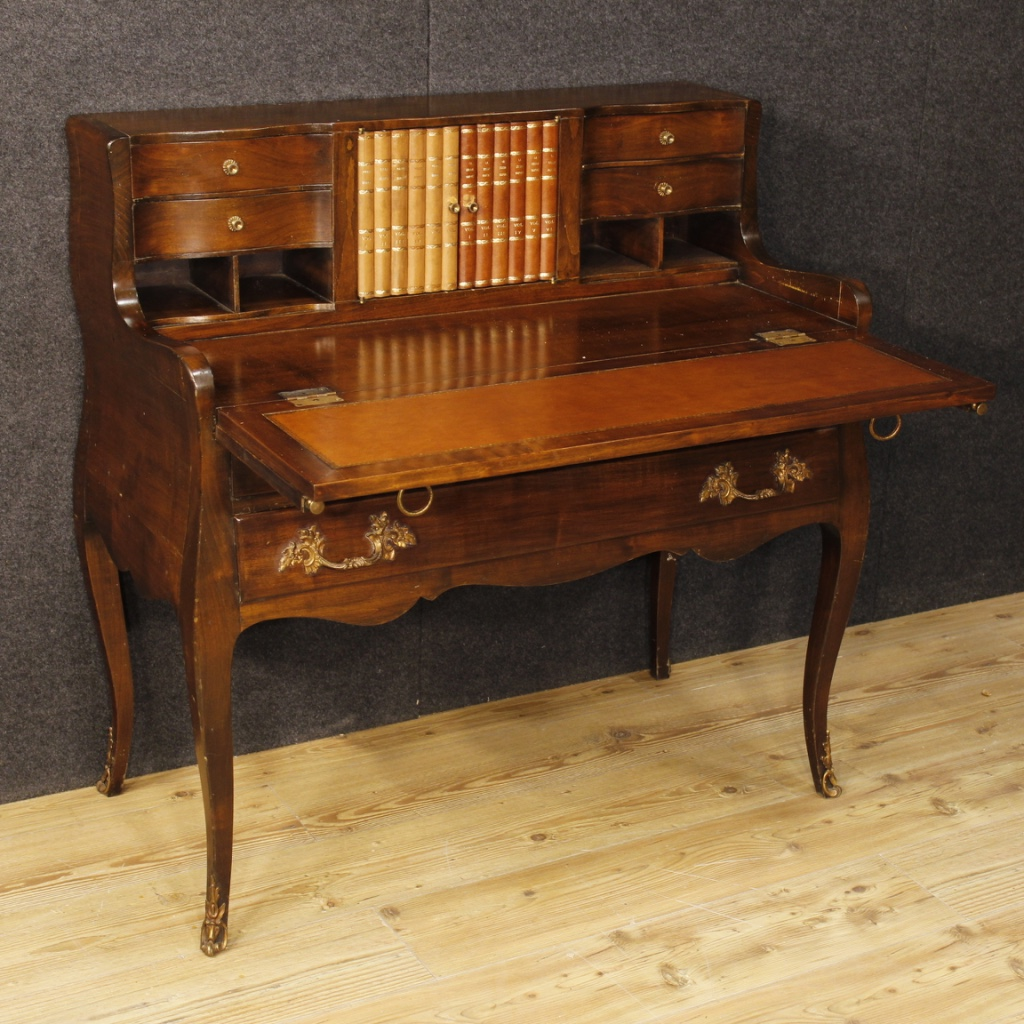 Mahogany Wood Desk ~ Dutch writing desk in mahogany wood for sale antiques