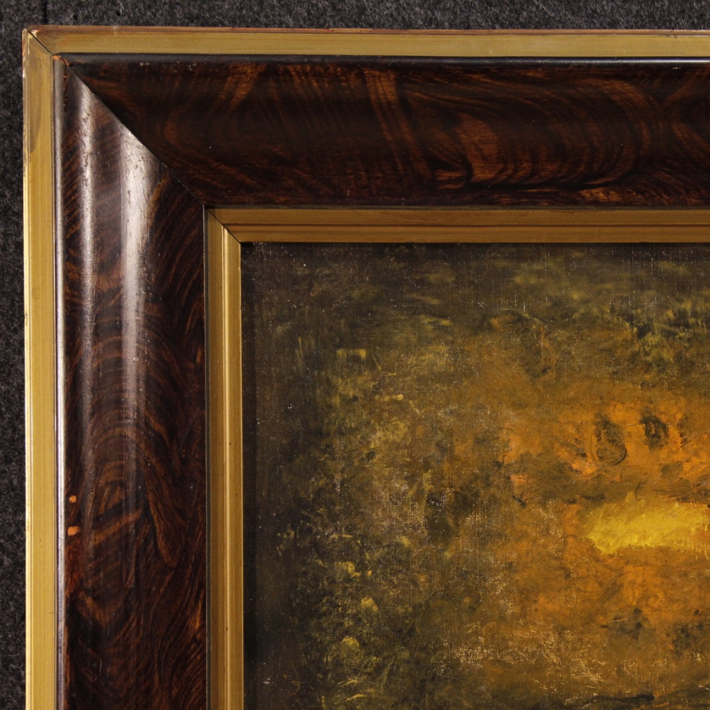 American Abstract Painting Signed By Robert Jay Wolff For