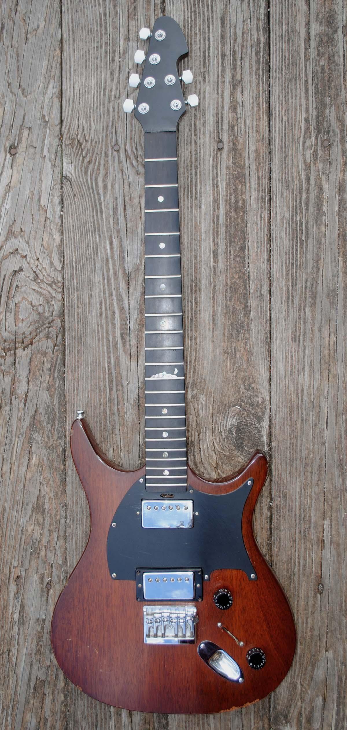 rare brooks brian moore prototype custom electric guitar for sale classifieds. Black Bedroom Furniture Sets. Home Design Ideas