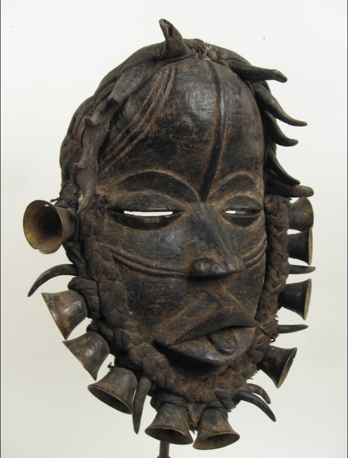 Wonderful Old We Wobe Mask Africa Ivory Coast M66 For