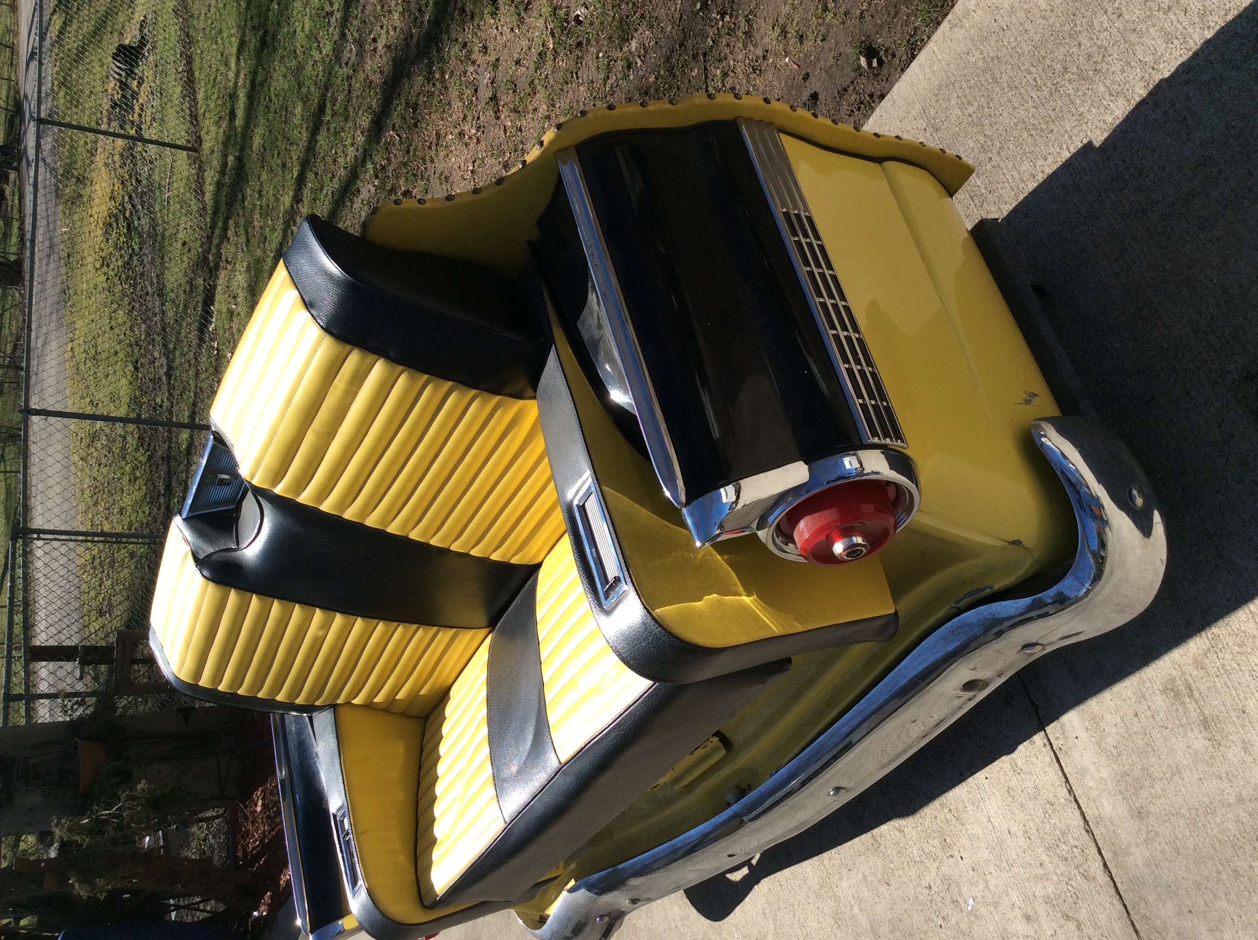 1956 Ford Fairlane Car Couch For Sale