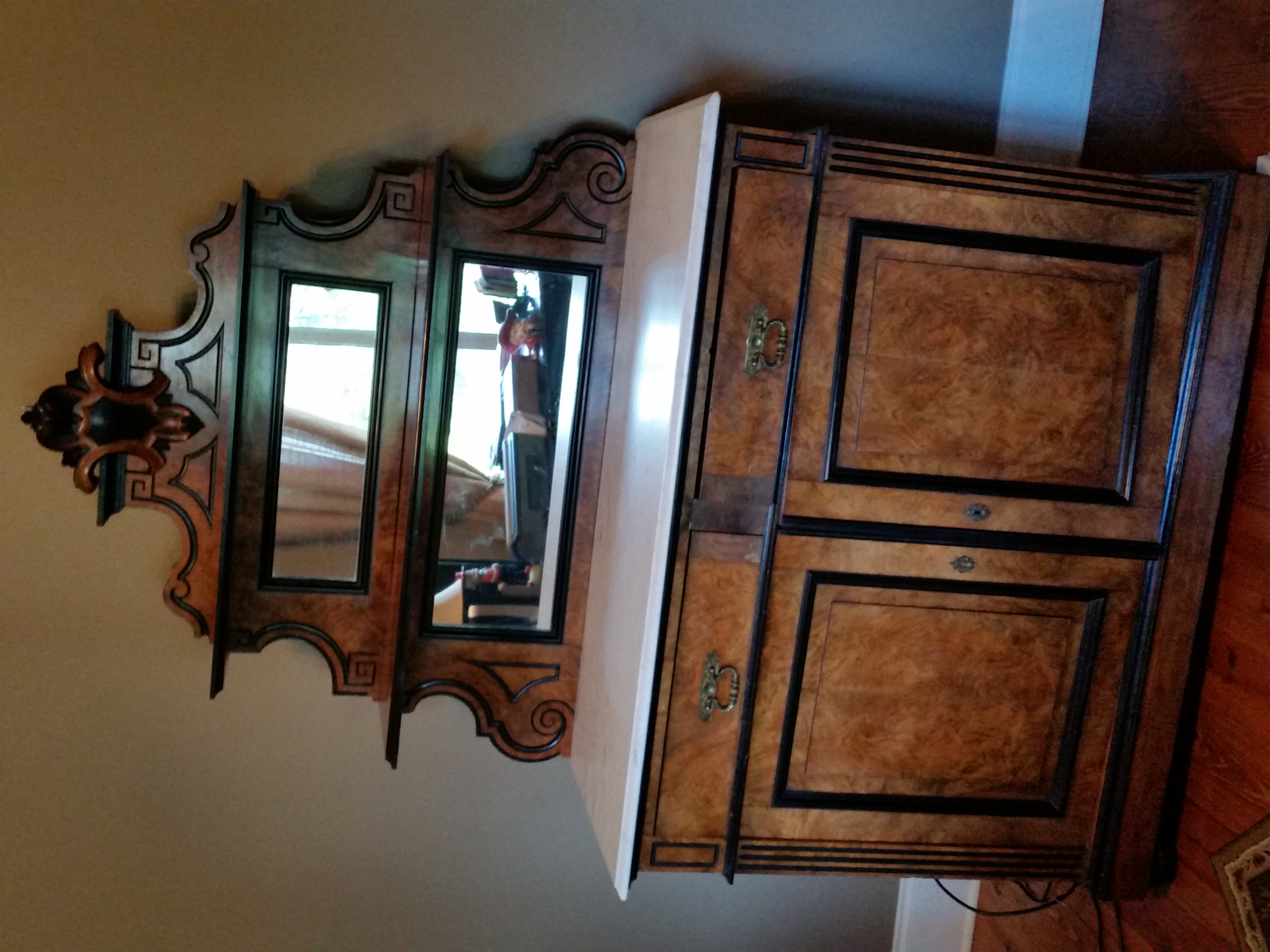 19th Century Buffet Sideboard For Sale