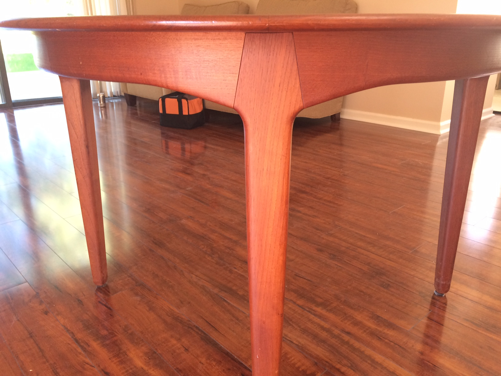 Danish Teak Dining Table By Soro Stole For Sale Classifieds