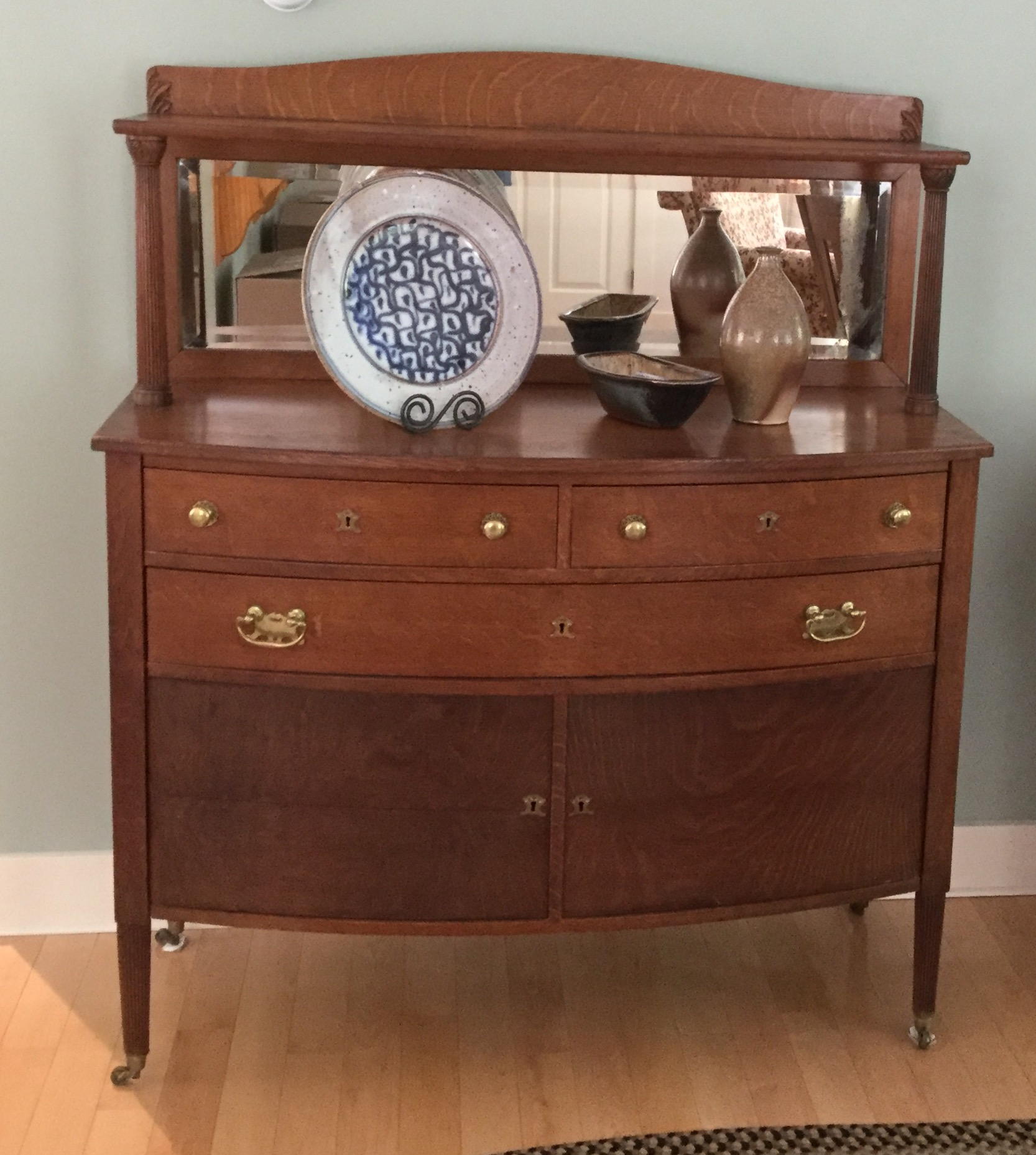 Merrill Furniture Ellsworth Maine Furniture Business: Buffet With Mirror For Sale