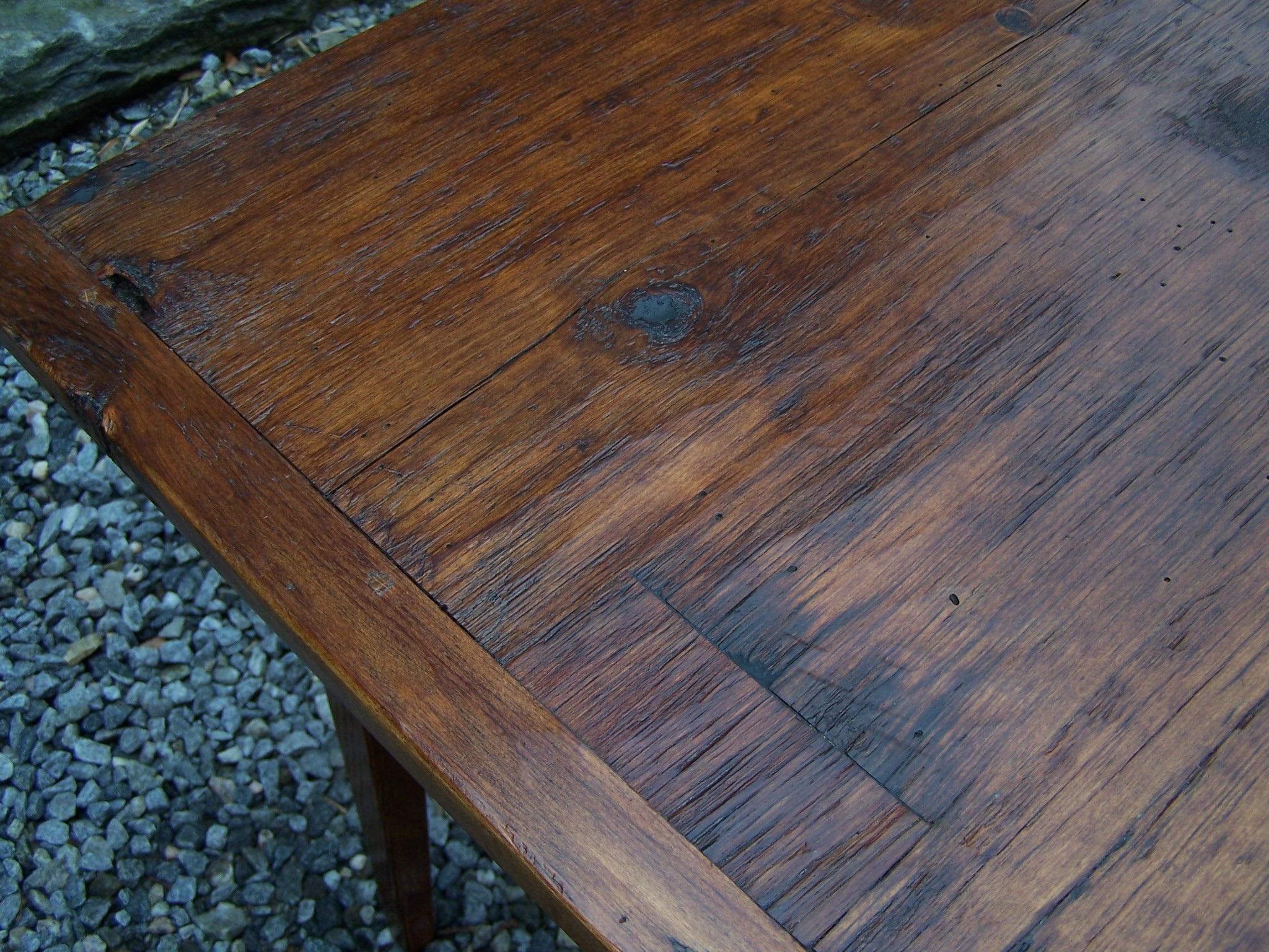 Antique Handmade New England pine country kitchen table country kitchen tables Handmade New England pine country kitchen table For Sale