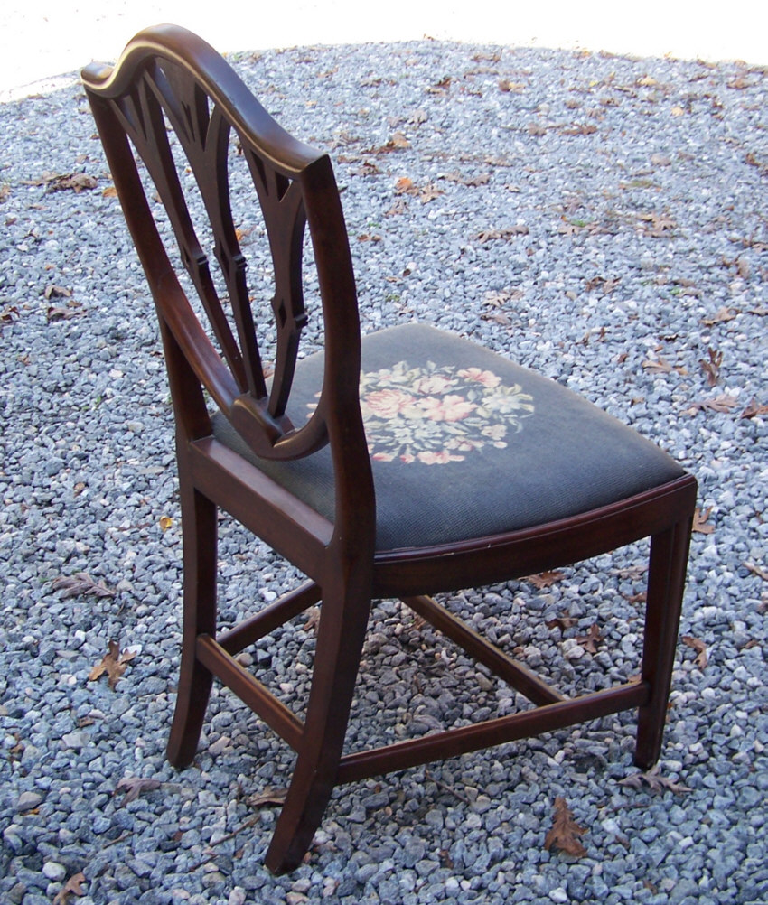 Dining Chairs For Sale: 8260 Vintage Set Of Ten Hepplewhite Style Mahogany Dining