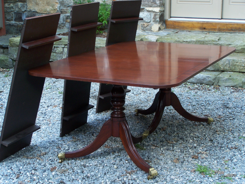 Vintage Baker Mahogany Dining Room Table With Three Leaves Measures 72 Inches Long 46 Wide And 29 High Extends To 126 18