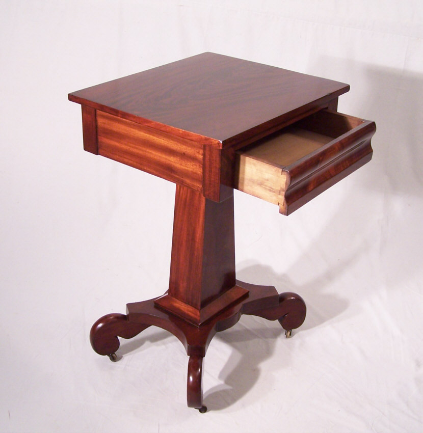 8323 Period American Federal Mahogany Night Stand C1825