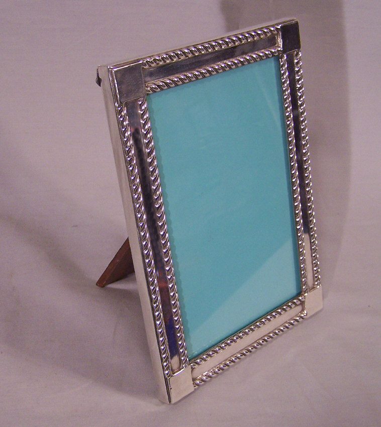 Sterling Silver Picture Frames  Personalized and Engraved