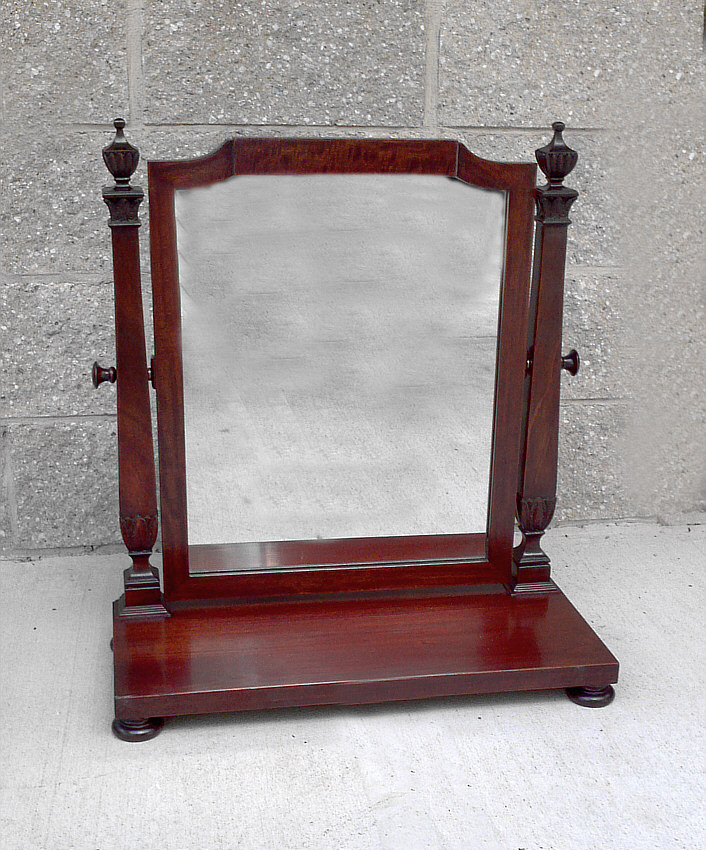 8220 mahogany dresser mirror by saginaw mirror works c1913 for Mirrors for sale