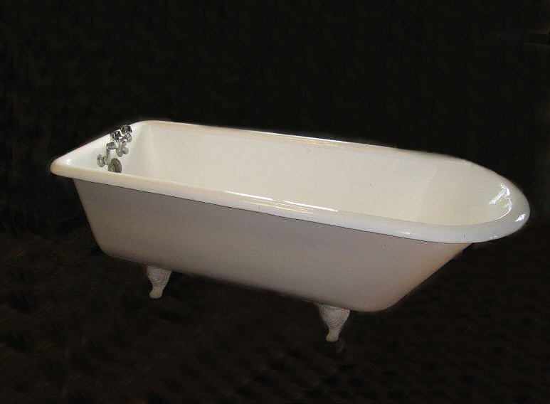 7742 vintage peck bros new haven ct porcelain bathtub