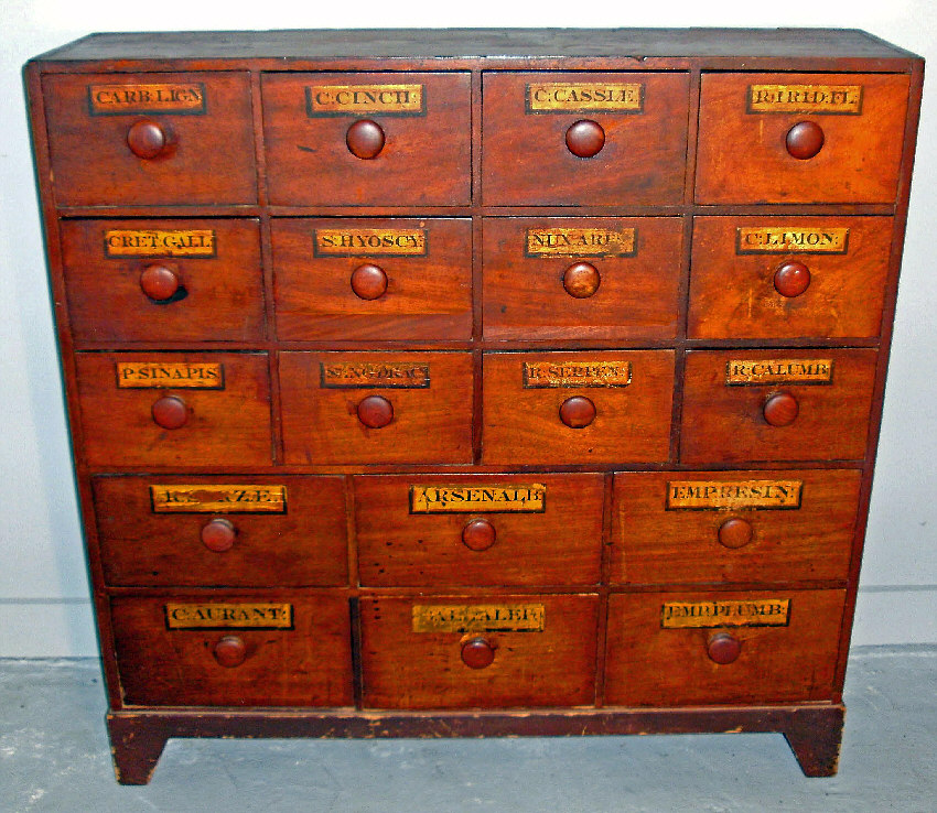 7896 Early 19th C American Pine Apothecary Cabinet C1839 For Sale Classifieds
