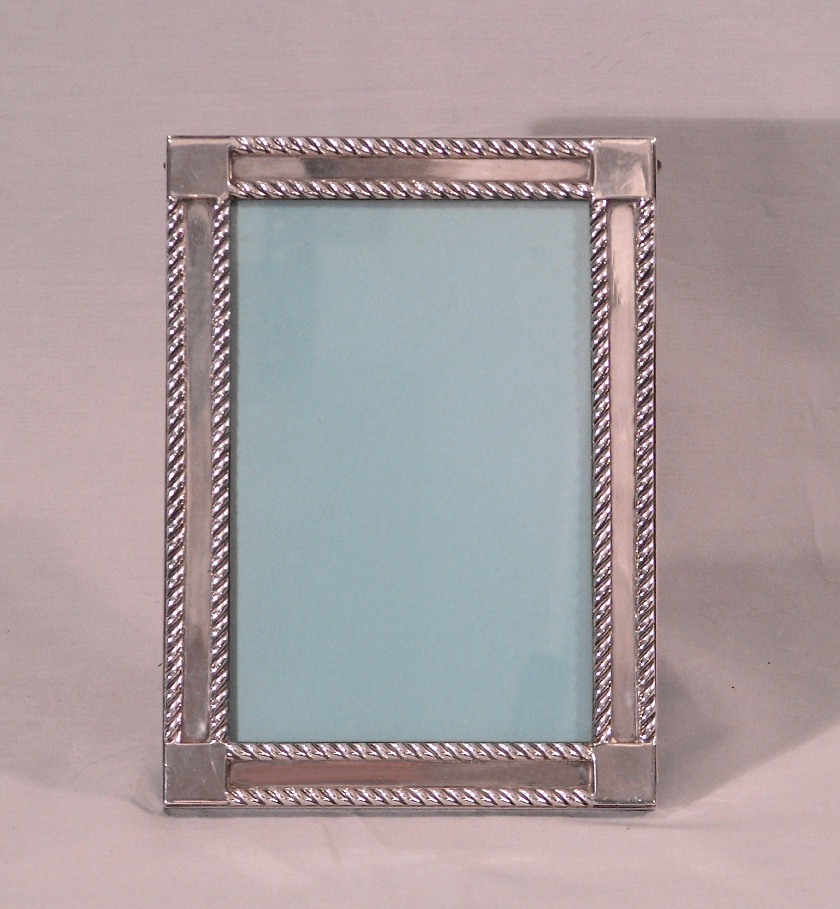 vintage tiffany and co makers 925 heavy sterling silver picture frame number 23886 measures 775 inches by 575 inches outside and 6 18 by 4 18 inches