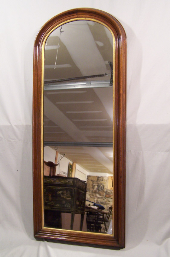 8333 american black walnut victorian tall wall mirror for Tall mirrors for sale