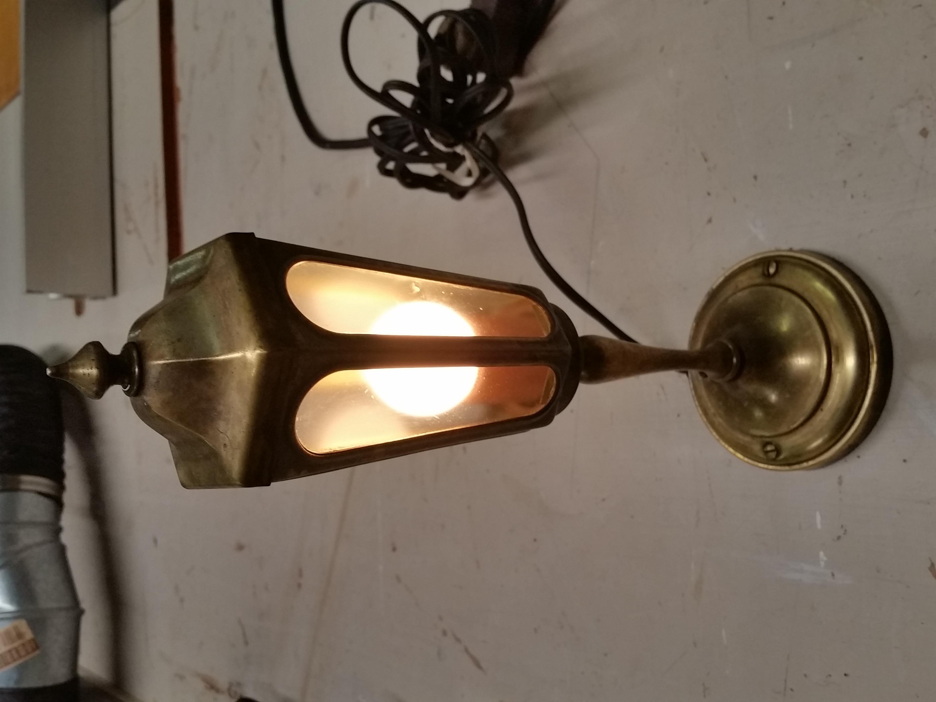 Antique Arrow Floor Lamp