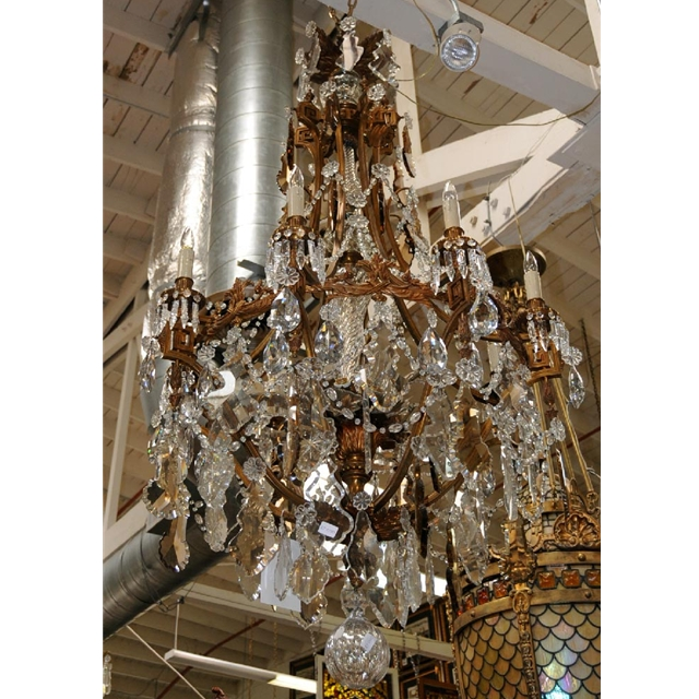 Large bronze crystal french chandelier for sale classifieds - Chandelier for sale ...