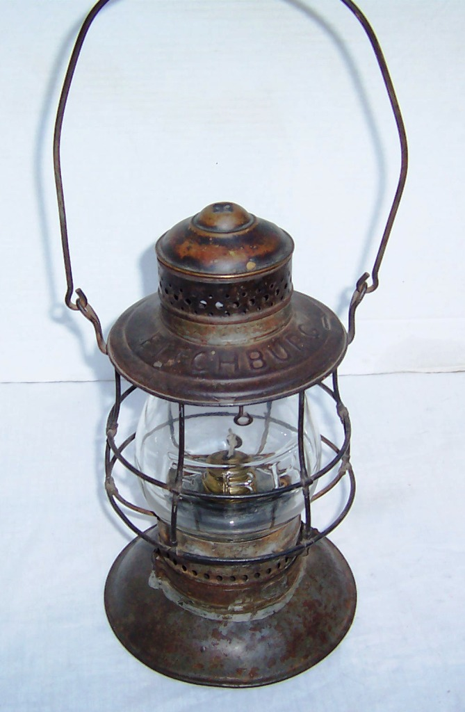 19th century fitchburg railroad lantern for sale classifieds. Black Bedroom Furniture Sets. Home Design Ideas