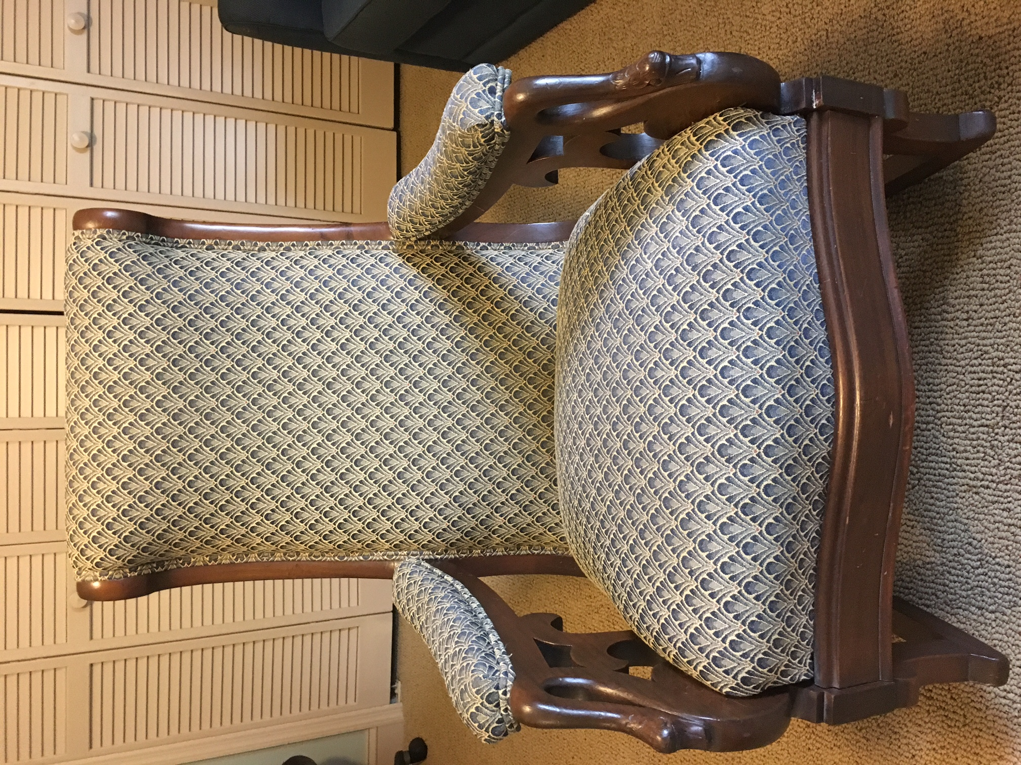 Miraculous Gooseneck Rocking Chair For Sale Antiques Com Classifieds Ibusinesslaw Wood Chair Design Ideas Ibusinesslaworg