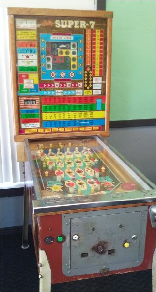 Bingo Flipper less pay out pinball pinballs game games entertainment ...