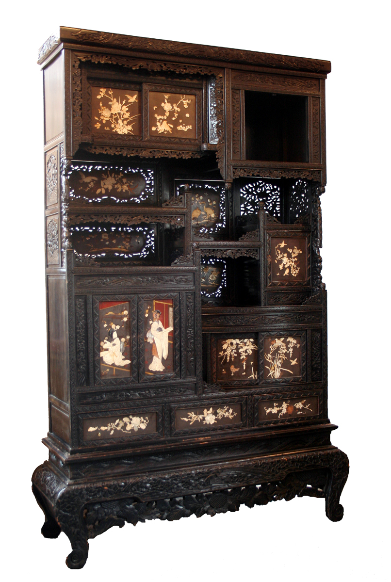 Oriental cabinet for sale classifieds for Antique asian cabinet
