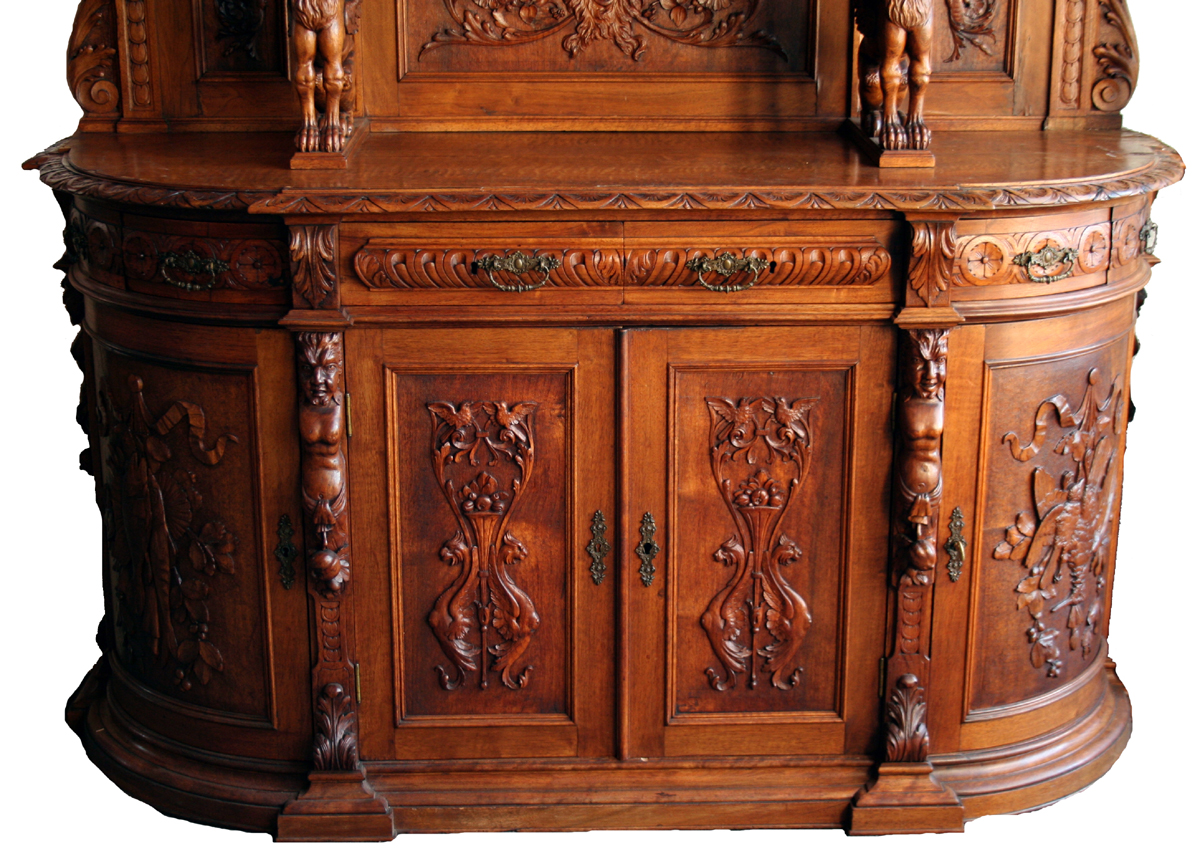 antique carved sideboard for sale classifieds. Black Bedroom Furniture Sets. Home Design Ideas