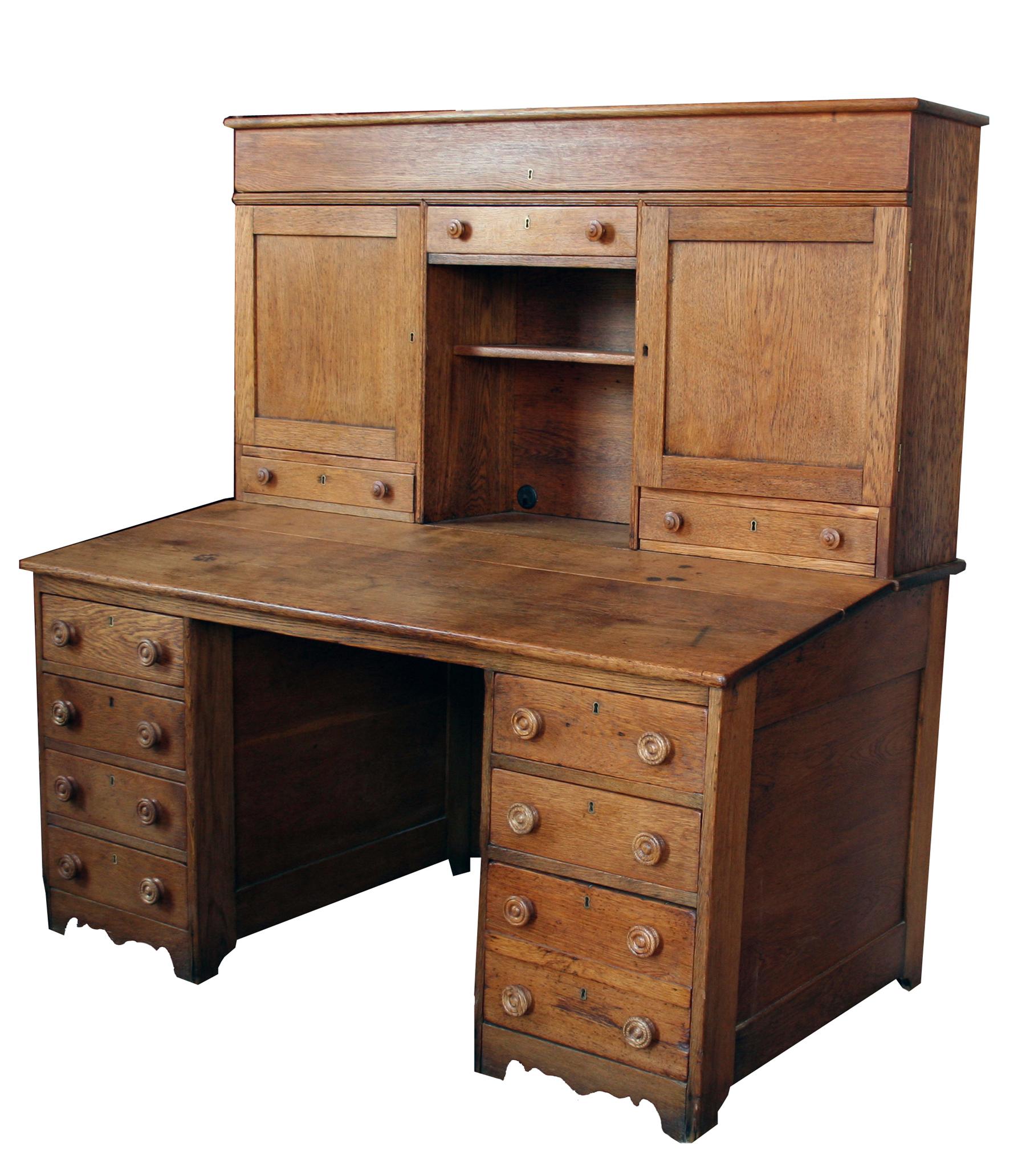 Oak Postal Desk For Sale Antiques