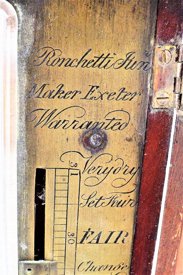 Stick Barometer mahogany antique For Sale | Antiques com