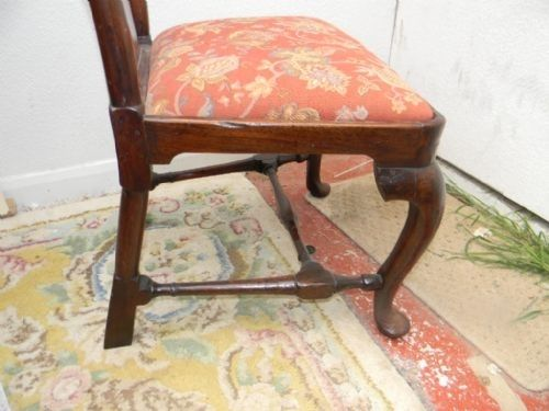 Queen Anne Walnut Chair For Sale Classifieds
