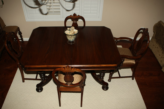 Jacobean Style Dining Room Set For Sale