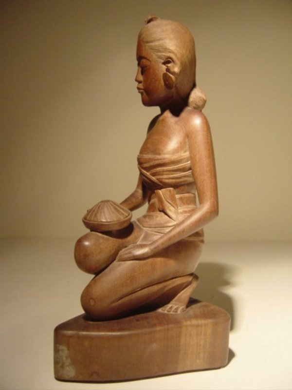 Wood carving from bali for sale antiques classifieds